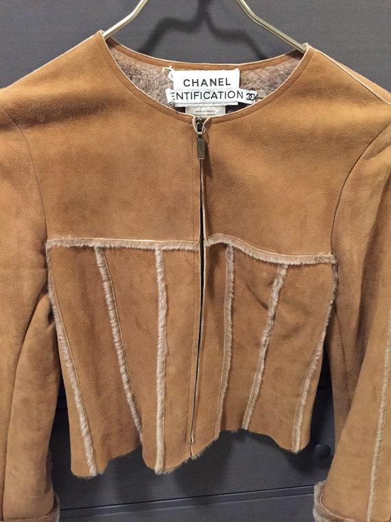 Chanel Suede Jacket Identification Vintage 1990's