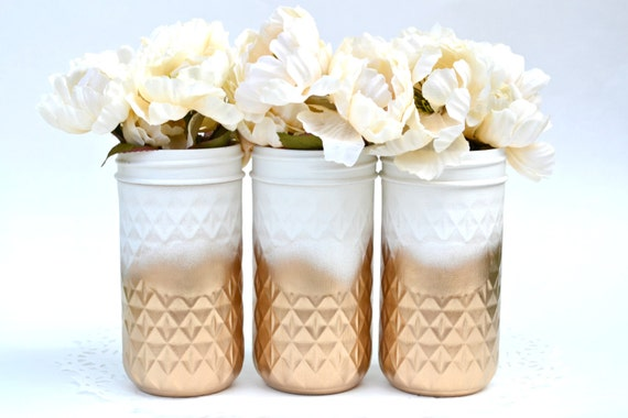 Mason Jars Bulk Wedding   Painted Mason Jars Mason Jars Bulk Wedding Jars Wedding Etsy