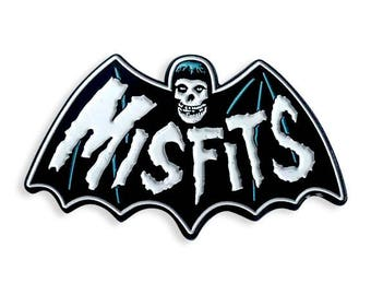 Misfits Bat Fiend Enamel Pin
