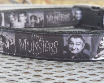 Munsters family dog collar