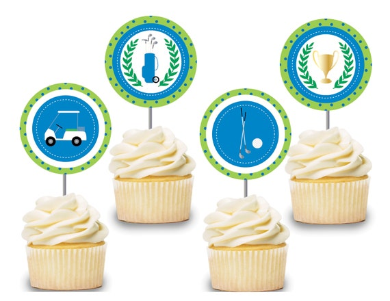 24 x The Amazing World of Gumball Cupcake Cake Toppers