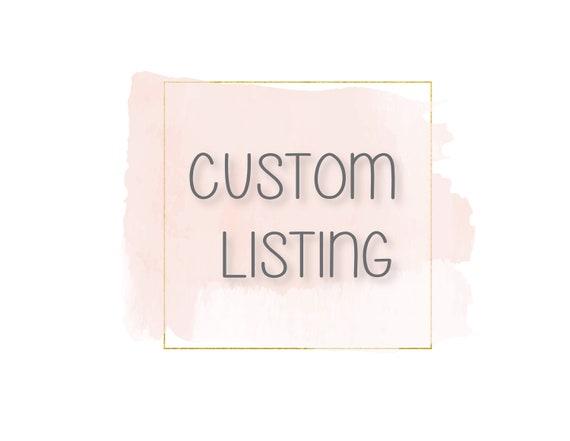Alexia Custom Listing