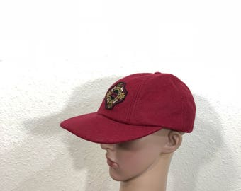 90 s vintage DKNY wool baseball cap trucker hat made in usa d7a8202f67c9