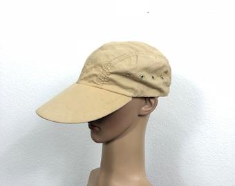 5debefbda53 80 s vintage eddie bauer cotton fisherman cap hat made in usa size 7 1 4