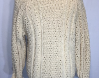 Vintage 1960/'s 100/% Acrylic Granny Octagon Hand Knit Pull-Over Shell by Bobbie Brooks Size SmallMedium