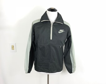 0a2f4eb727a3 70 s vintage nike nylon anorak pullover windbreaker rain jacket orange  label size M