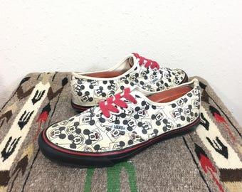 vintage vans shoes