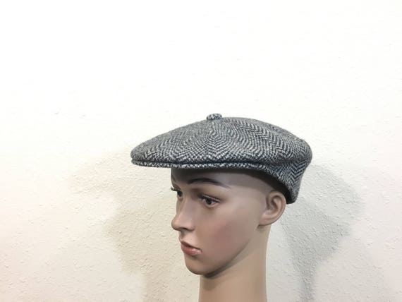 8b474a5bb94 Kangol all wool newsboy hat gray color size 7 1 8