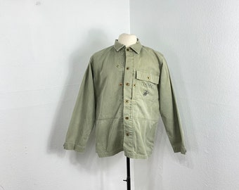 40s vintage military USMC M-44 HBT herringbone twill jacket