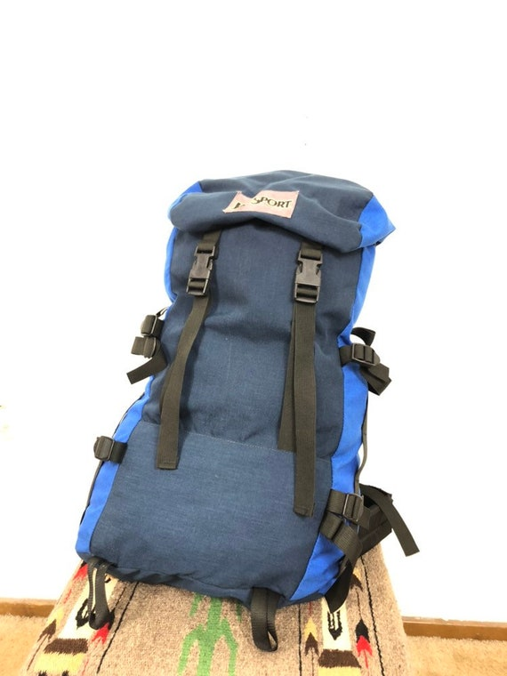 80s vtg jansport mountaineering backpack day pack