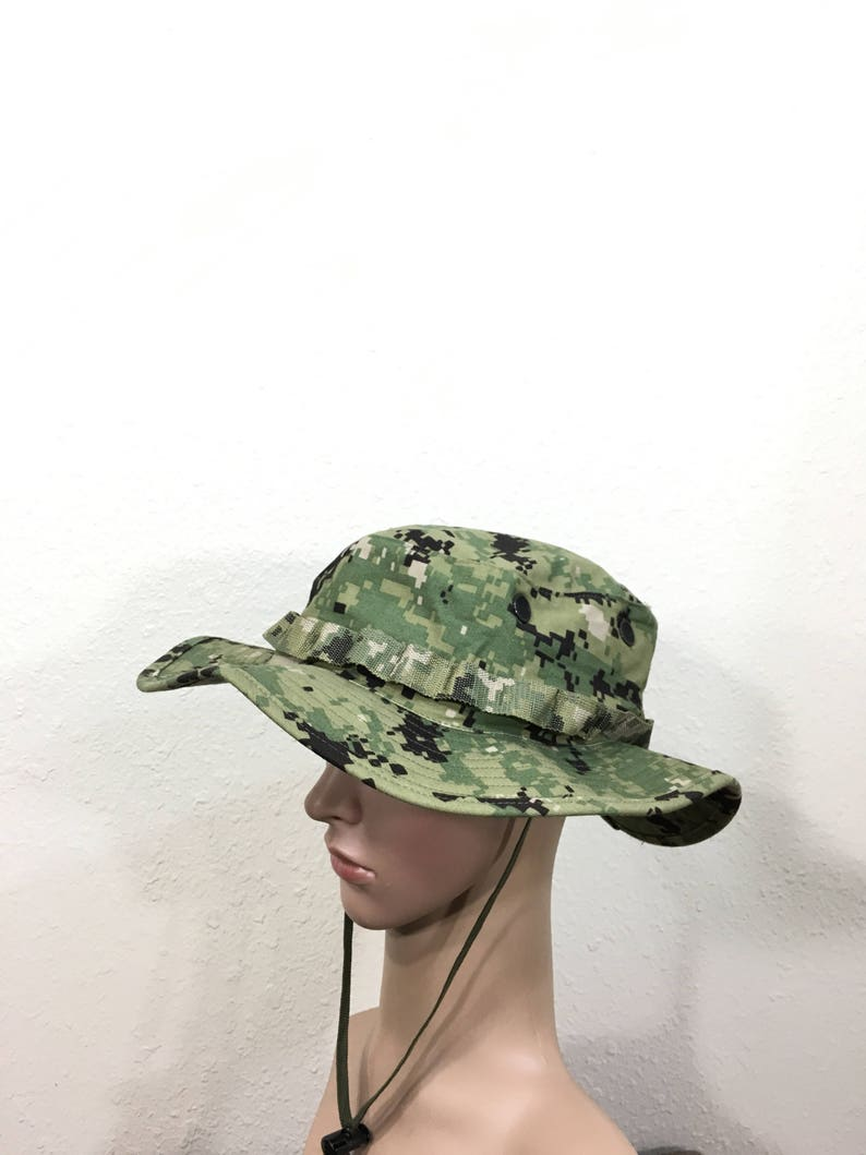 39278e427 U.S.ARMY military digital camouflage safari bucket hat size 7 1/8