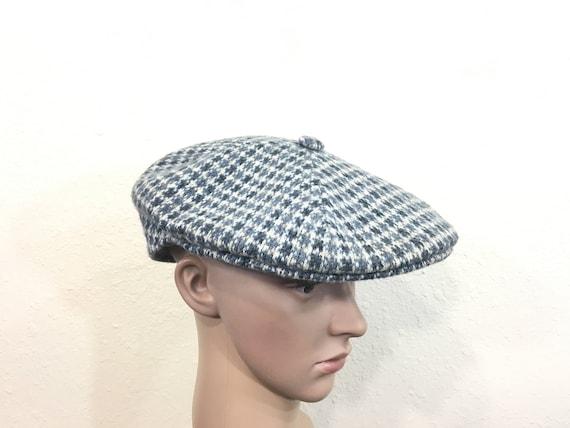 35fc7aca49f 90 s vintage kangol wool newsboy hat cap made in england
