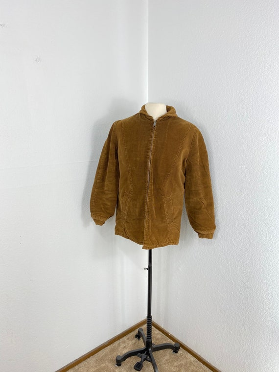 60s vintage TOWNCRAFT corduroy pharaoh jacket size