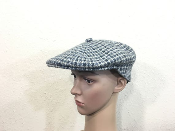 26bfa7c088e 90 s vintage kangol wool newsboy hat cap made in england