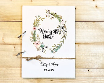 Guestbook Wedding Wood