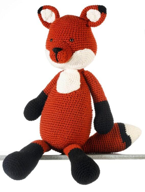 Fanny Fuchs Häkeln Fuchs Ausgestopfte Tiere Fox Amigurumi Etsy