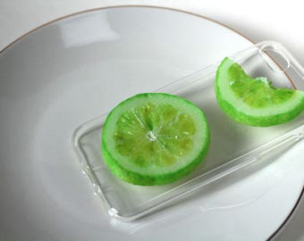 Fresh Lime Slices for iPhone case