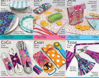 "Six ""Little"" Patterns by Joan Hawley of Lazy Girl Designs"