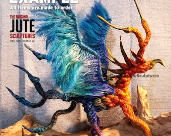 Jute Griffin  - symbols of strength, courage & leadership