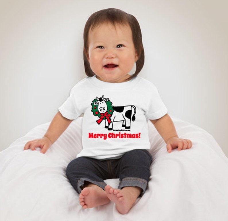 Baby Christmas Short Sleeve T-shirt image 0