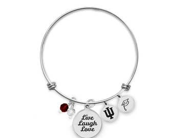 texas longhorns bangle bracelet custom college bracelets etsy