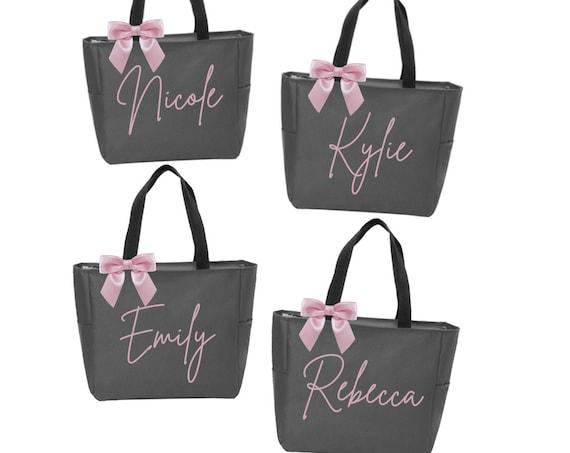 Bridesmaid Tote Bags, Personalized Bridesmaid Bags, Bridal Party Bridesmaid Gifts, Maid of Honor Tote, Custom Bridesmaid Tote Bags, Tote Bag