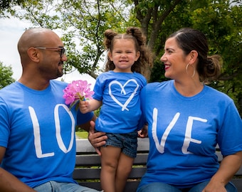 family matching shirts, gift for family, mommy daddy and me shirts, matching shirt sets, new parents shirts, new parents gift, family gifts