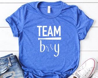 gender reveal shirts- team boy shirt - team girl shirt - its a girl shirt - its a boy shirt - gender reveal idea - gender reveal tees