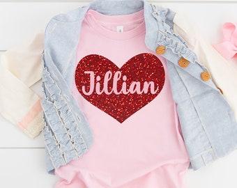 Swirl Heart Applique Shirt Buffalo Check Girls Valentines Shirt Valentine Romper Valentine/'s Clothing, Girl/'s Valentine/'s Day Shirt