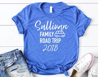 More Colors Family Road Trip Shirt