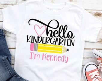 Kindergarten shirt graphic tee