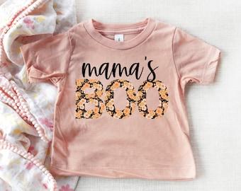 halloween kids shirt, mama's boo shirt, boo kids shirt, fall kids shirt, halloween toddler shirt, halloween baby shirt, halloween tshirt