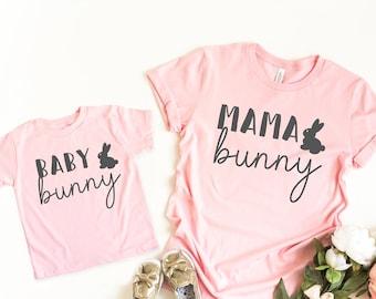 cb034900dc mom and daughter easter shirt - Mama bunny shirt - womens easter shirt -  easter tee - mommy and me easter - Mommy and me easter shirt