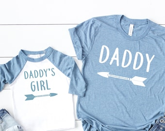 46b02228 dad and daughter shirts, gift for father, daddy and me matching set, dad  and daughter matching, daddy and me tees, dad's bday gift