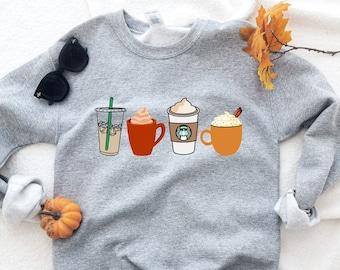 pumpkin spice shirt, cute fall shirt, pumpkin shirt, monogram shirt, pumpkin spice, monogram fall shirt, womens fall shirt, cute fall tee