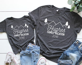 97bef0c0c Custom Family vacation shirts, Family camping shirts, Family Vacation tees,  Family vacation, Matching family vacation t-shirts, group shirt