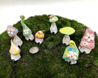Stripey Fairy Houses
