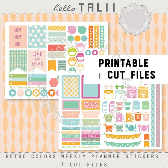 Theme Sticker Otter Kit Kim/'s Otterly This World Full Weekly Kit Happy Planner Kit Stickers Weekly Kit Galaxy Kit Life Planner