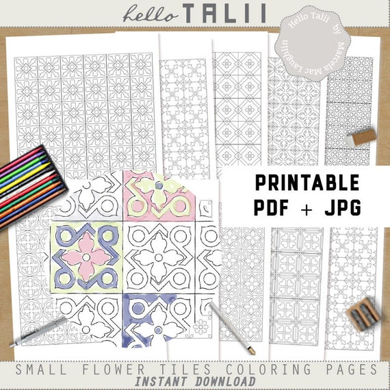Moroccan Tile coloring page | Free Printable Coloring Pages | 570x570
