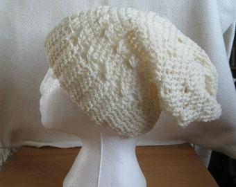 Handmade Super Slouchy Hat.