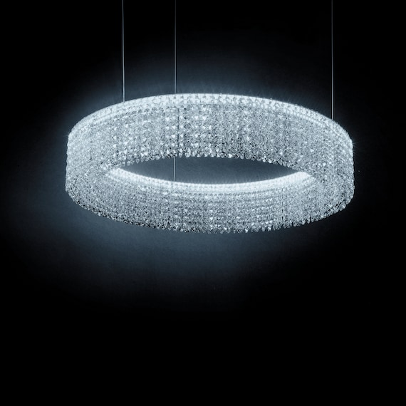 huge discount b30ce 9b700 RING - Crystal chandelier, Swarovski by request, modern, luxury,  customizable