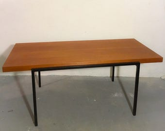 60s Lübke dining table with teak finish