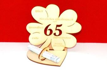 Geldgeschenk 60 Geburtstag Etsy