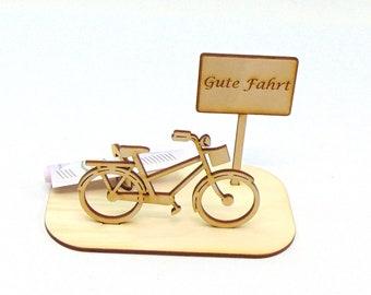 Geschenkidee geld fur fahrrad