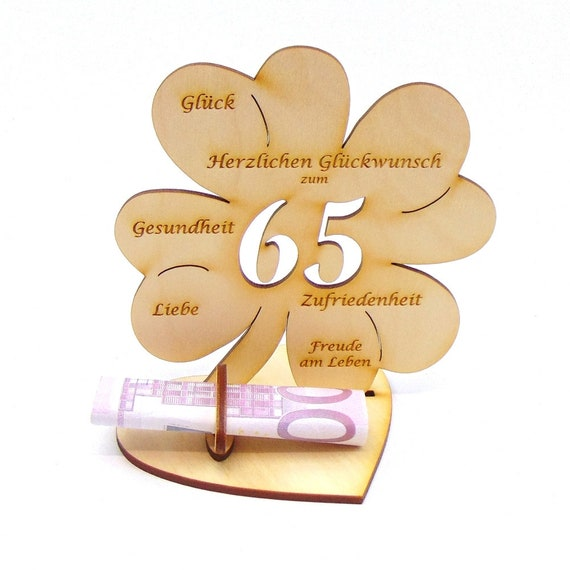 Geburtstagswunsche zum 65