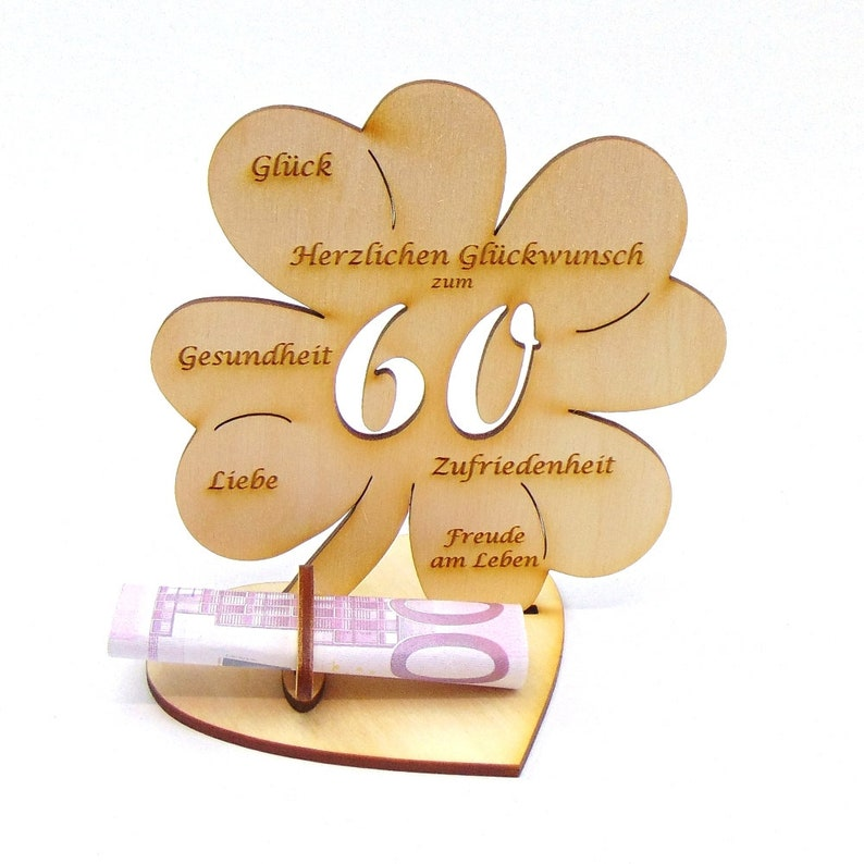 Geldgeschenke Geburtstag 60