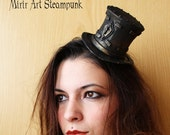 mini steampunk top hat. s...