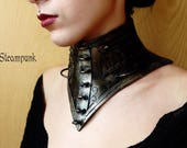 steampunk tall necklace/c...
