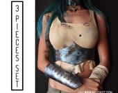 SET: underbust corset/cho...