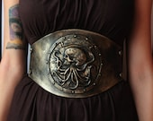 steampunk waist belt / un...